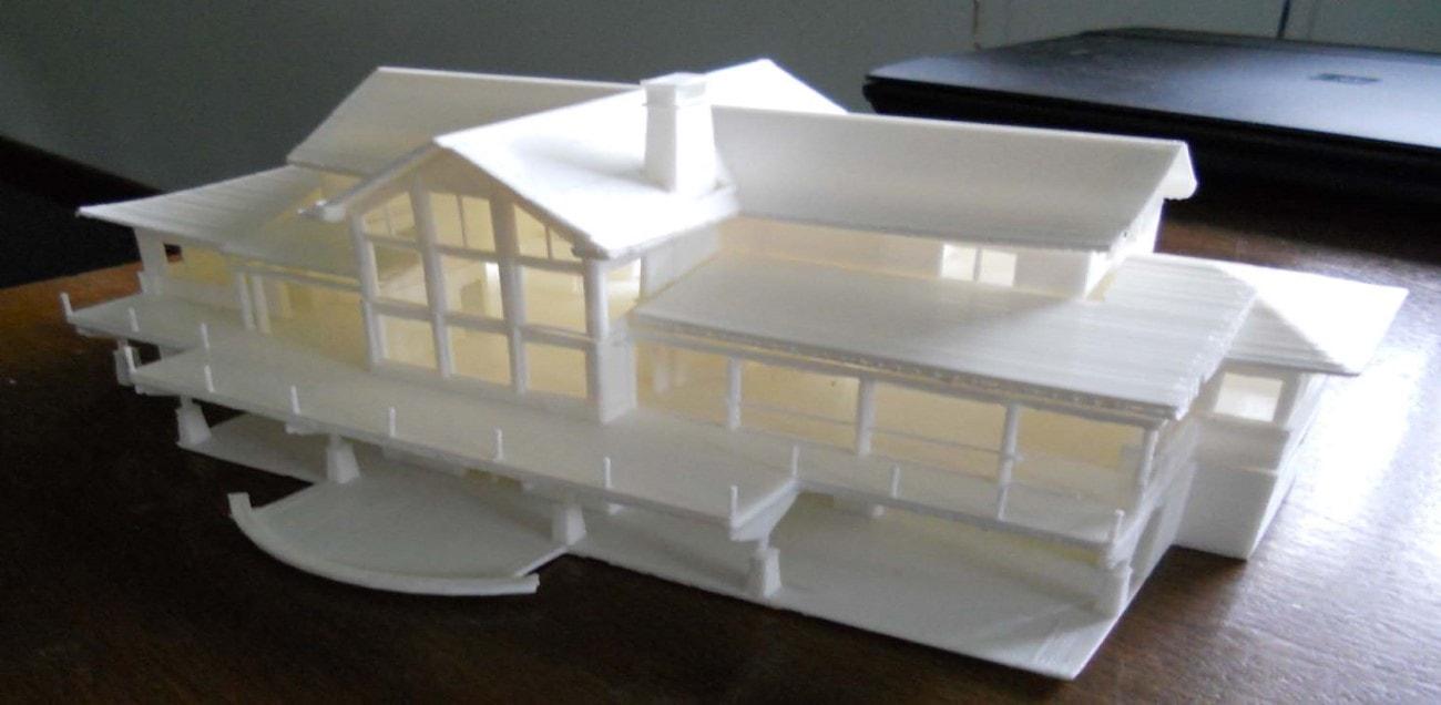 نقش پرینترها و مدلهای سه بعدی در مهندسی عمران و معماری