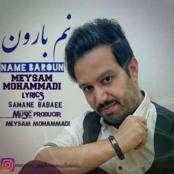دانلود آهنگ نم بارون از میثم محمدی  با متن ترانه