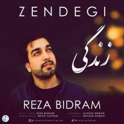 دانلود آهنگ زندگی از رضا بیدرام  با متن ترانه