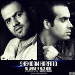 دانلود آهنگ شنیدم حرفاتو از رضا شیری و علی جوکار  با متن ترانه