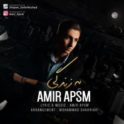 دانلود آهنگ یه زندگی از امیر APSM  با متن ترانه